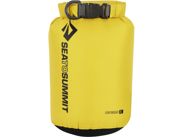 Sea to Summit Lightweight 70D Dry Sack 2L bottle yellow